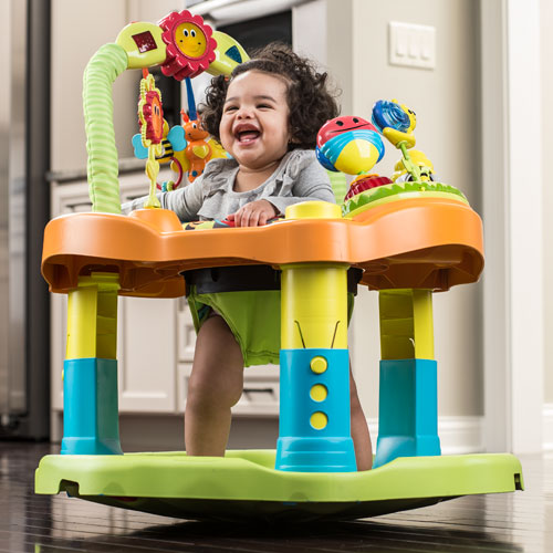 Evenflo Exersaucer Double Fun - Bumble