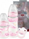 Nuk First Choice Pink Trio Gift Set