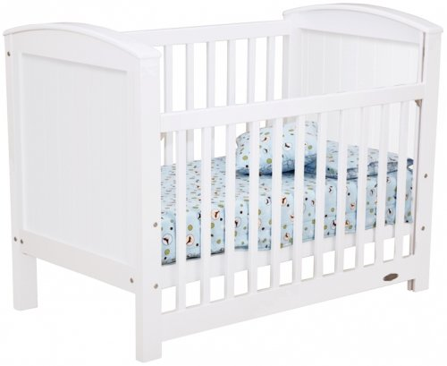 Touchwood Meadow Panelled Cot -White