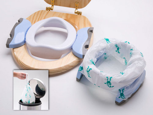 Potette Plus Folding Travel Potty