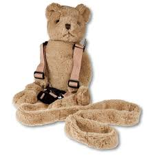Harness Buddy - soft teddy