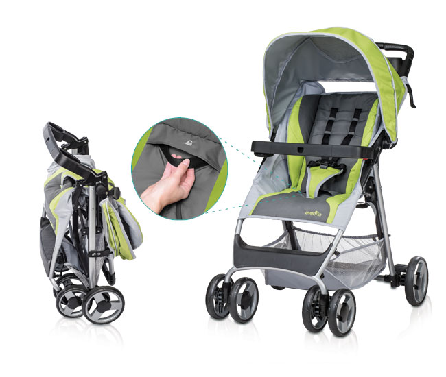 Evenflo Car Seat And Stroller - Seat