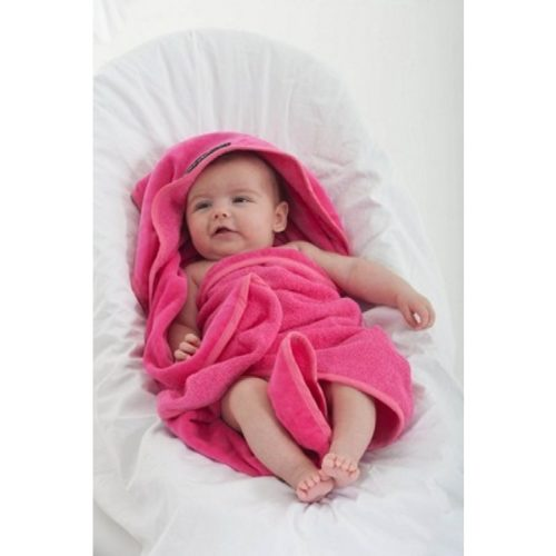 Mum2Mum Hooded Towel  - Cerise
