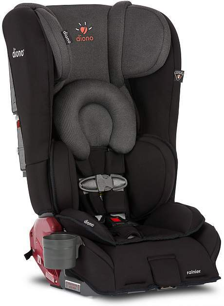 Diono Rainer Convertible Carseat/Booster - Black Mist 2016