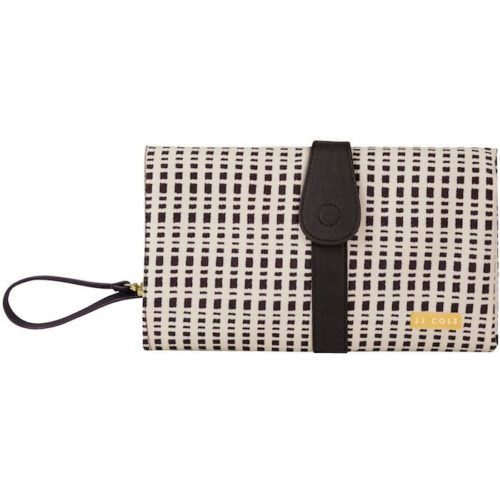JJ Cole Changing Clutch -black and cream