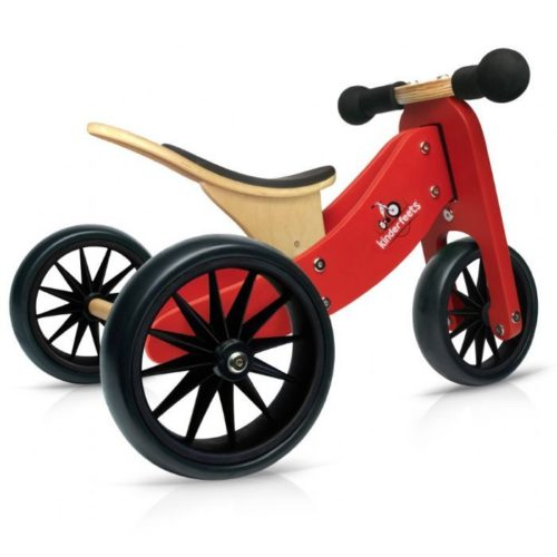 2 in 1 Tiny Tots Bike -RED