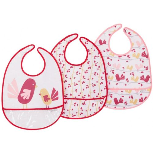 JJ Cole Bib Set - Chickadee 3 pce