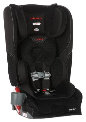 Diono Rainer Convertible Carseat/Booster - Houndstooth