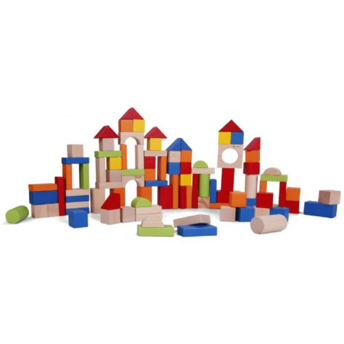 100pce Wooden Blocks