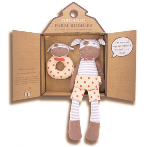 Organic Farm Buddies Gift Set - Little pig