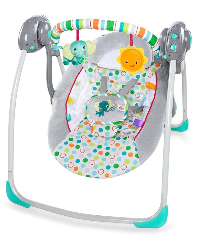 Bright Stars Portable Swing - Itsy Bitsy