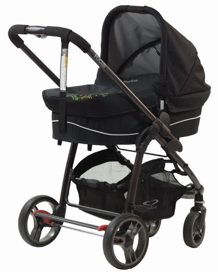 Baby Love Focus Stroller and Bassinet