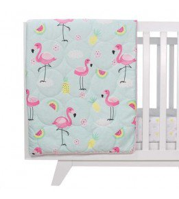 Flamingo 4pc Nursery Set