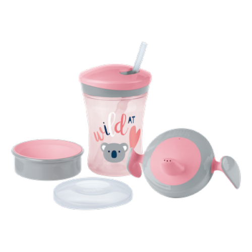 Nuk Evolution Learn to Drink Set - Pinks