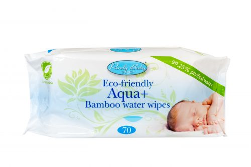 Purely Baby Eco- Friendly AQUA + Bamboo Water Wipes (560)