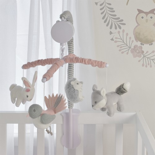 Lolli Living Musical Mobile Set (Forest Friends) - 72 x 32cm