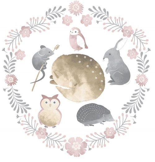 Forest Friends - wall decal
